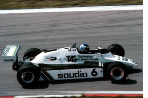 ex-Keke Rosberg Williams FW08